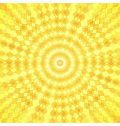 Abstract sun waves background vector image