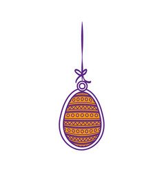 Egg easter day vector
