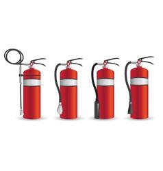 Fire Extinguisher Mock Up vector