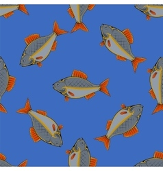 Seamless Fish Pattern vector