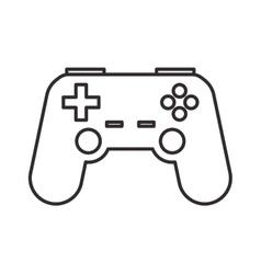 Videogame control hobby design vector
