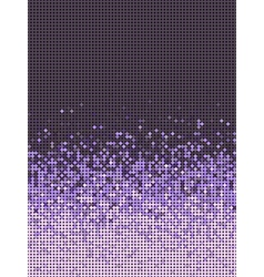 Bubble gradient pattern in purple and lavender vector