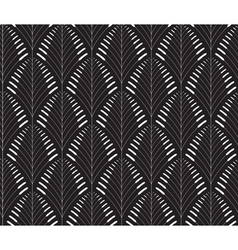 Abstract seamless pattern with a cane-like figure vector image vector image