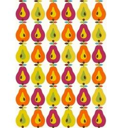 Bight fruits seamless vector image vector image