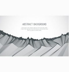 Abstract background with fantastic landscape vector