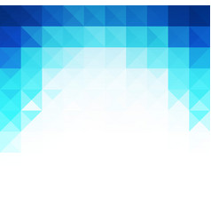 Abstract blue light template background vector