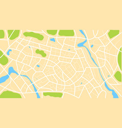 Clean top view day time city map 003 vector