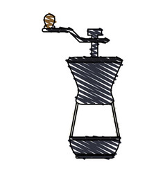 Coffee grinder icon imag vector