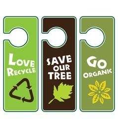 Ecological Awareness vector image