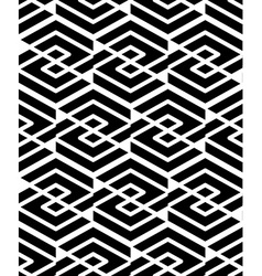 Geometric seamless pattern with parallel lines and vector image