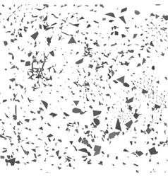 Grey Confetti Set of Particles vector