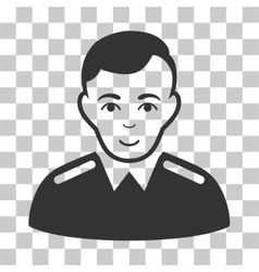 Officer Icon vector