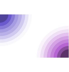 purple spectrum circles frame border vector image