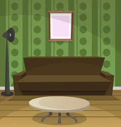 Retro Room vector image