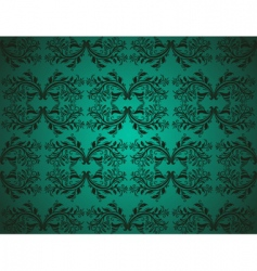 Seamlessly damask wallpaper vector