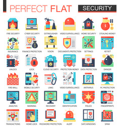 security and cyber safety technology vector image