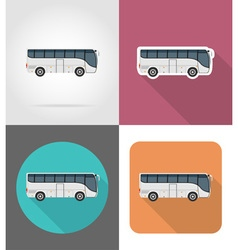 transport flat icons 41 vector image