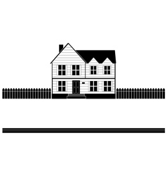 real estate house banner vector image vector image
