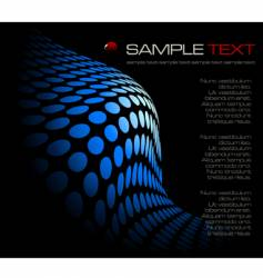 black abstract composition vector image vector image