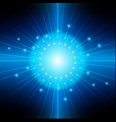 abstract blue light backgrounds vector image vector image