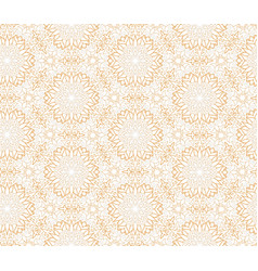abstract oriental floral seamless pattern arabic vector image vector image