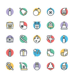 Christmas Cool Icons 1 vector