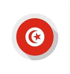 Flag of Tunisia vector image