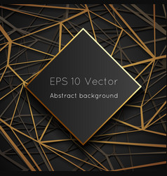low polygon geometric web space world abstract vector image
