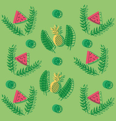 summer wallpaper pattern vector image