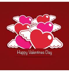 valentine decoration vector image
