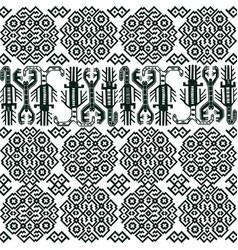 Seamless pattern with peruvian motifs vector