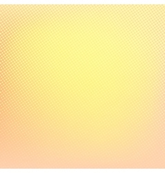 Yellow background Abstract halftone pattern vector image vector image
