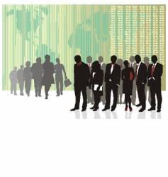 business teams vector image vector image