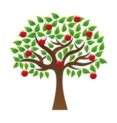 tree ecology symbol icon vector image