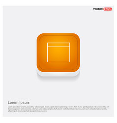 application window interface icon orange abstract vector image