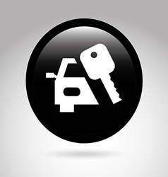 car button design vector image