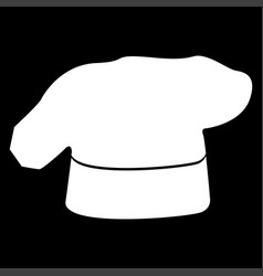 Chef cooking hat icon vector