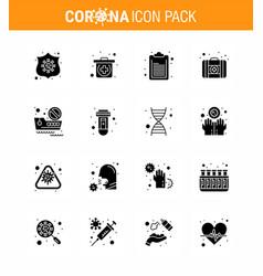 corona virus prevention covid19 tips to avoid vector image
