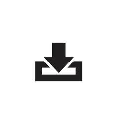 download icon symbol vector image