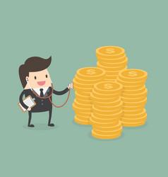 Financial health check vector