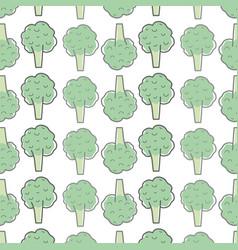 Health broccoli vegetable icon background vector