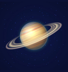 Saturn planet with rings gas vector