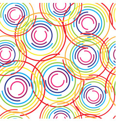 abstract background with bright rainbow colorful vector image