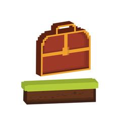 chest box icon image vector image