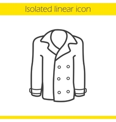 Coat icon vector