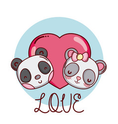 Cute and lovely animals vector