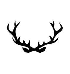 Deer antler vector