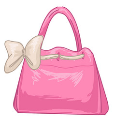 Fashion and trends 2000s women handbag vector
