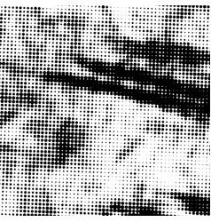 grainy halftone overlay vector image