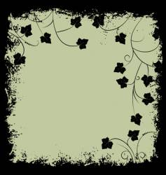 Grunge frame and border vector